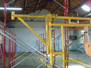 Heavy Duty Scaffolding Frames With Powder Coated Side Brackets 1524x1524xΦ42x2.3mm